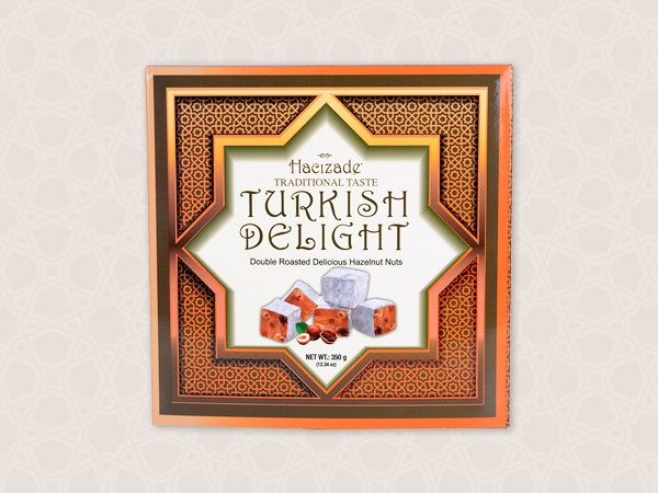 350gr TURKISH DELIGHT AUTHENTIC SQUARE BOXES