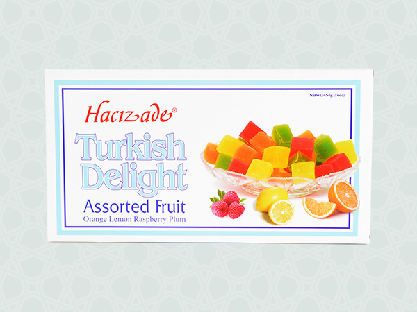 454 gr TURKISH DELIGHT TRADITIONAL BOXES